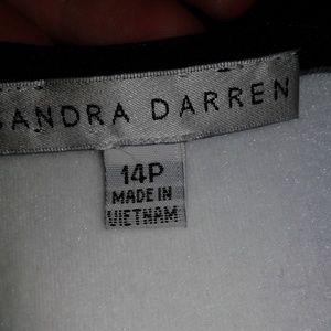Sandra Darren Dresses - NWOT Sandra Darren Printed Shift Dress Sz 14P